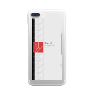Alert Clear smartphone cases
