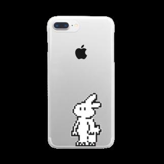 8Fテナント募集中の8bitきくらげちゃん Clear smartphone cases