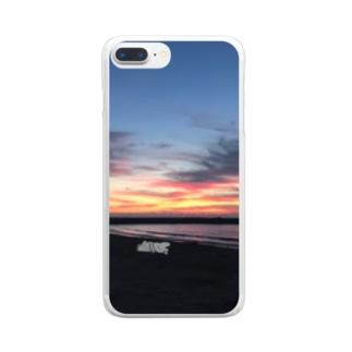 きくらげちゃんの眠り Clear smartphone cases