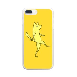 ウレCイヌ Clear smartphone cases