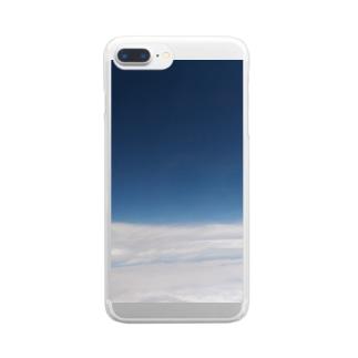 くものうえ Clear smartphone cases
