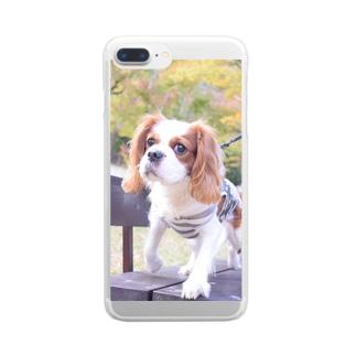 シンタロウ Clear smartphone cases
