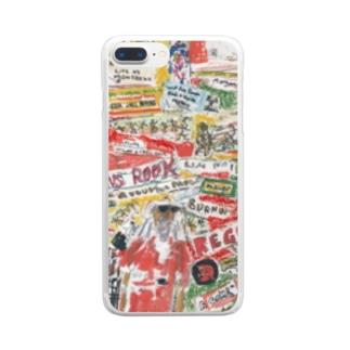 レゲコラ Clear smartphone cases