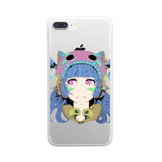 A Clear smartphone cases