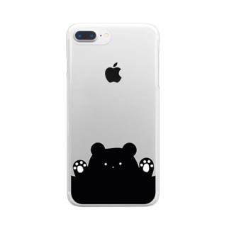 Peekaboo kageguma  Clear smartphone cases