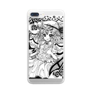 東方projectレミリアスカーレット③ Clear Smartphone Case