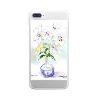カサブランカ Clear smartphone cases