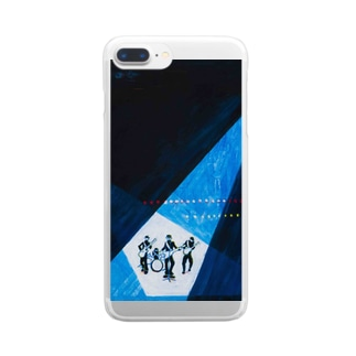 BOYS BAND Clear smartphone cases