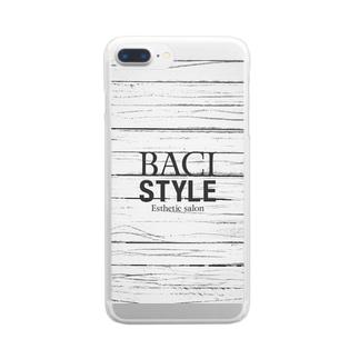LOGO-スマホケース Clear smartphone cases
