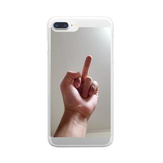 東から陽は昇ル∠( ˙-˙ )/のおはよう先輩 Clear smartphone cases