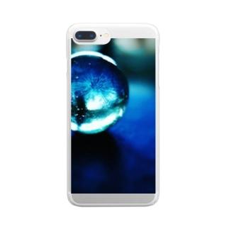 小さい夏 Clear smartphone cases