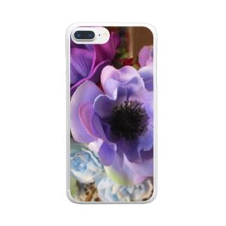 香しき香りNo.36 Clear smartphone cases