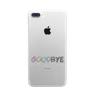 goodbye2 Clear smartphone cases