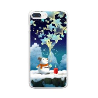 星屑 Clear smartphone cases