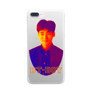DT-BOY クリアスマートフォンケース
