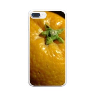 柑橘類のある光景 Clear smartphone cases