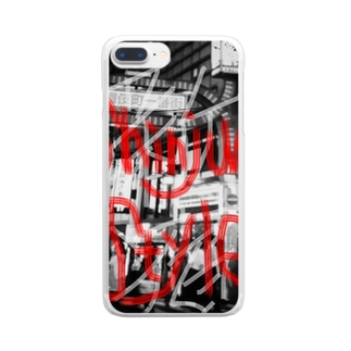 Style of Shinjuku Clear smartphone cases