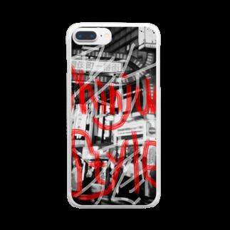 NM商会NAGオリジナルTシャツのStyle of Shinjuku Clear smartphone cases