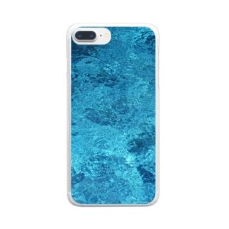 箱水(B) Clear smartphone cases