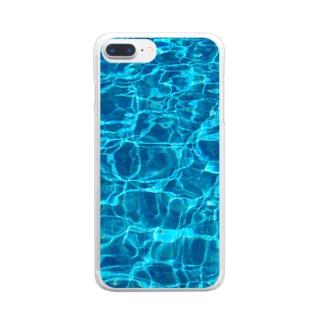 箱水(A) Clear smartphone cases