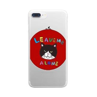 野良猫 Clear smartphone cases