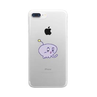 uchu~jin Clear smartphone cases