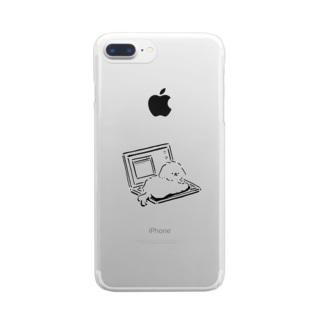 いごごちええねん Clear smartphone cases