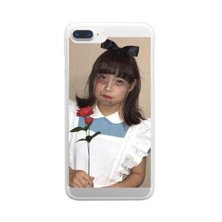 まなちゃ Clear smartphone cases