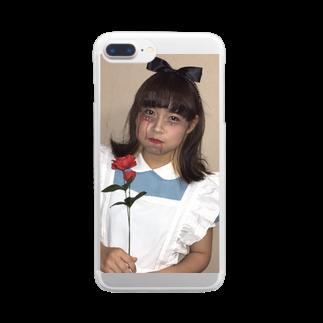 🍪17🍭のまなちゃ Clear smartphone cases
