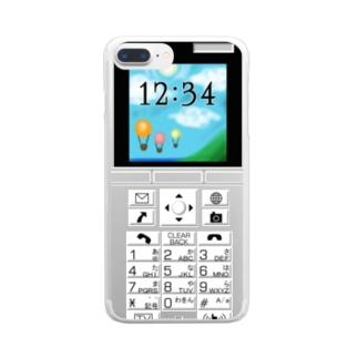 柄ケーガラ Clear smartphone cases