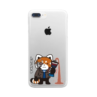 YSパンダ・サイボーグ Clear smartphone cases