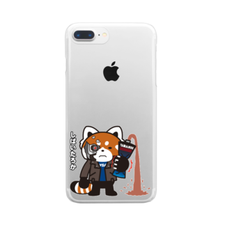 YSP-yokohamatotsukaのYSパンダ・サイボーグ Clear smartphone cases