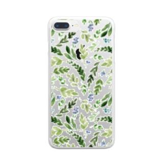 グリーンブリーズ Clear smartphone cases