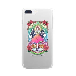 伝説のオハナシ Clear smartphone cases