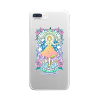 伝説のオハナシ(fancy.ver) Clear smartphone cases