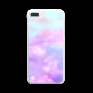 謎世界観ののすたるじっく Clear smartphone cases