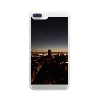Copenhagen nightview Clear smartphone cases