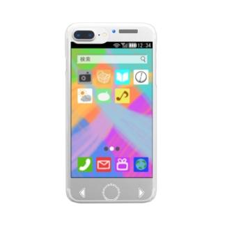 どこにでもスマホ Clear smartphone cases