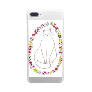 おはなちゃん Clear smartphone cases