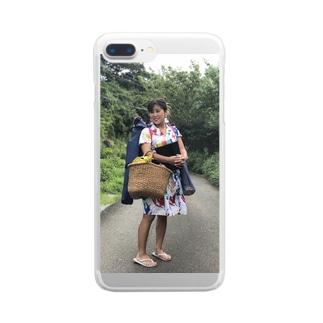 ふゆの Clear smartphone cases