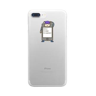 アスフォン Clear smartphone cases