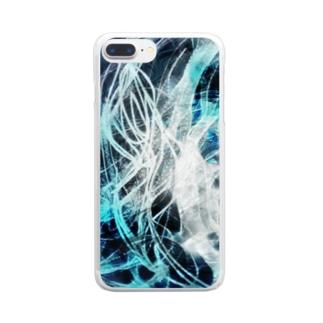 迷う事なかれ Clear smartphone cases