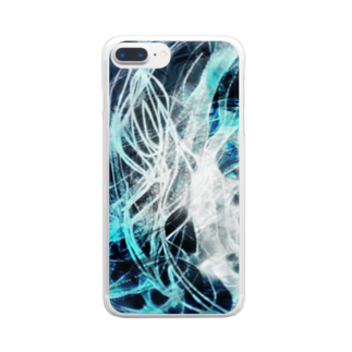 SKY CHOPの迷う事なかれ Clear smartphone cases