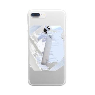 四六時中 Clear smartphone cases