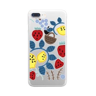 フルーツバスケット Clear smartphone cases