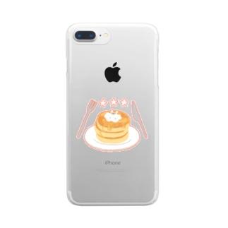 ななてる Clear smartphone cases