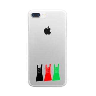 エプロンエプロンエプロン Clear smartphone cases