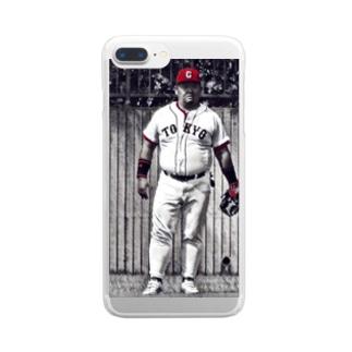 たけぴ Clear smartphone cases