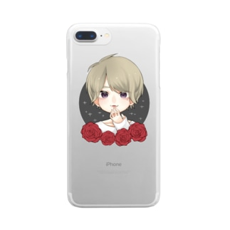 すごく強いかえで Clear smartphone cases