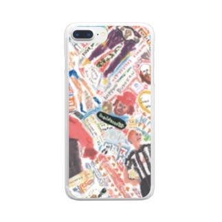 レスコラ。 Clear smartphone cases